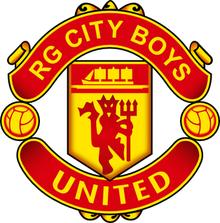 Rg City Boys United Sepak Bola Old Trafford Manchester United