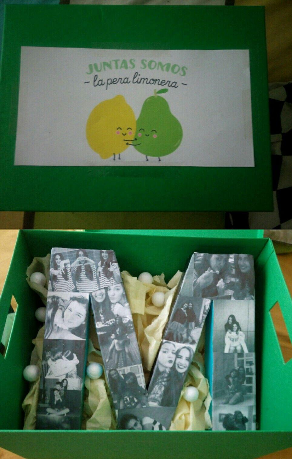 Gift For Your Best Friend Regalo Original Para Tu Mejor Amiga  ~ Regalos Originales Amigo Invisible Hechos A Mano
