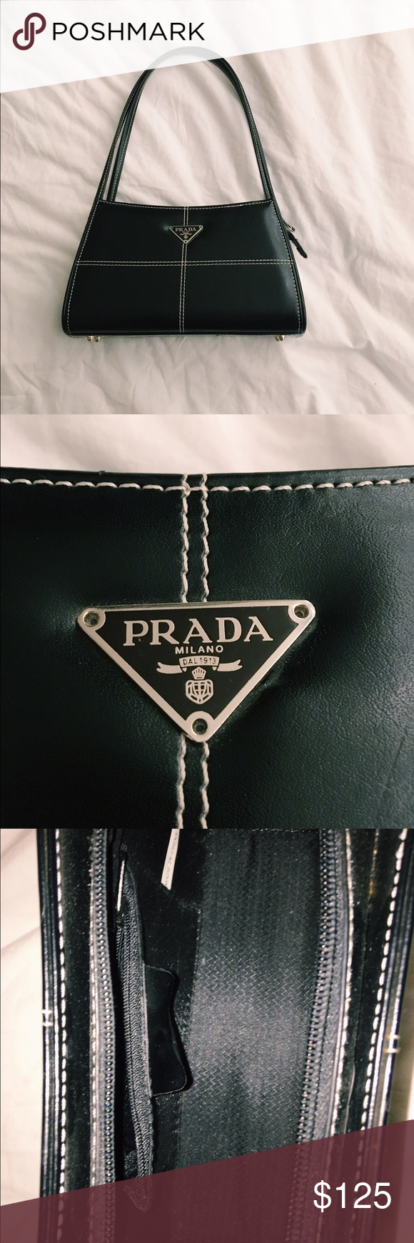 37ff304d6ecf VINTAGE PRADA BAG Prada bag from early 90s (I'm assuming). Given to by a  family friend and I've never used it! In near perfect condition. Bags  Shoulder Bags