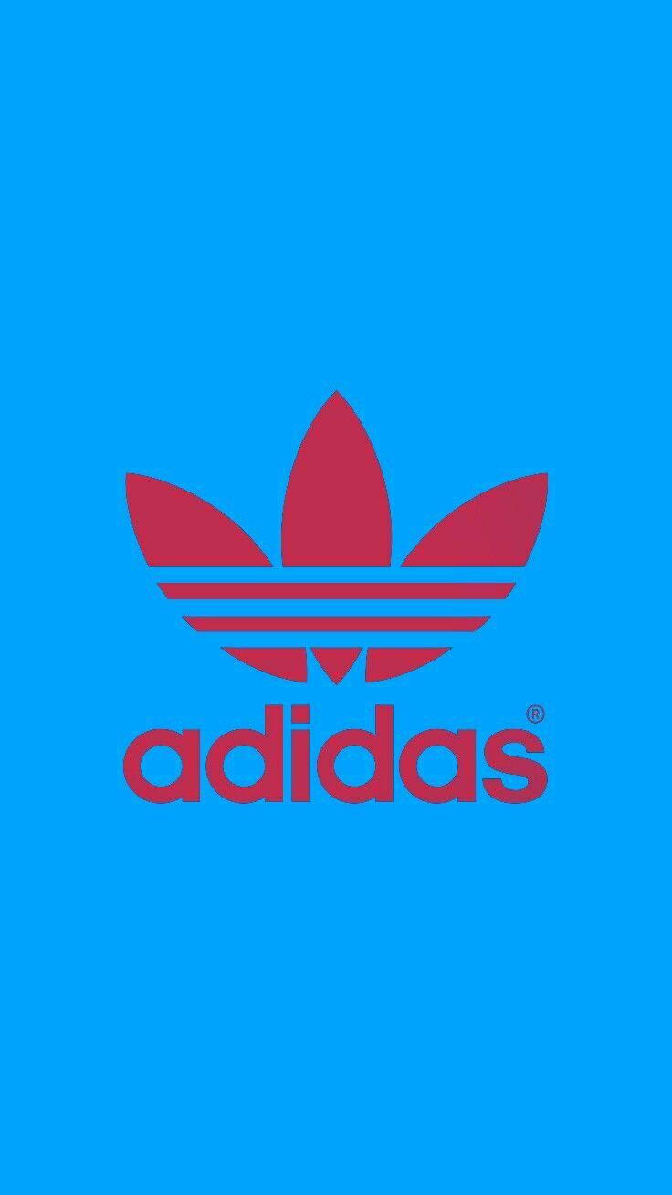Adidas Blue Wallpaper Android Iphone Adidas Logo Wallpapers Adidas Wallpapers Adidas Art