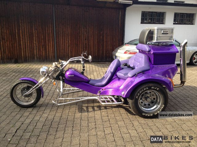 1997 Rewaco 3 Seater Trike HS1 Family Motorcycle Chopper Cruiser Photo