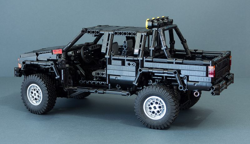 Lego Technic Toyota Hilux N40 By Rm8 Mod Back To The Future Lego Technic Toyota Hilux Lego Technic Truck