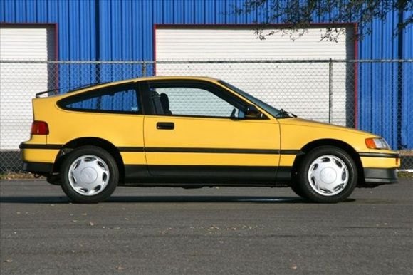 1989 Honda Crx Si I Owned This Exact Car 1998 2000 So Much Fun To Drive Great Gas Mileage