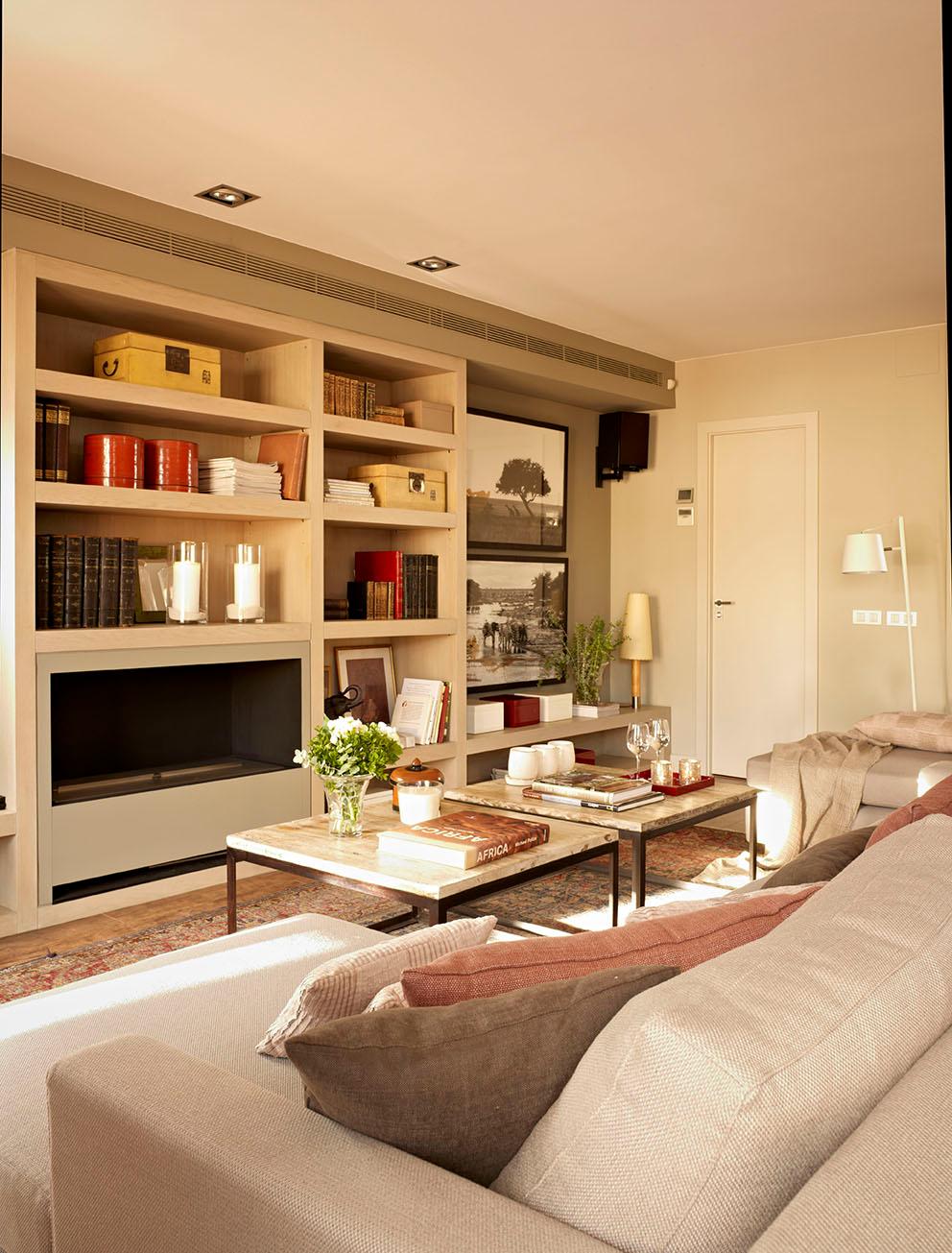 En este piso, nada es lo que parece Home living room