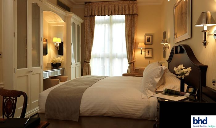 Connaught Hotel Suite In London Designed By Guy Oliver