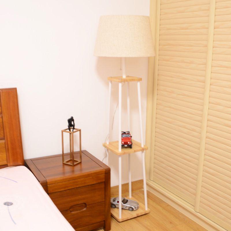 Simple Warm And Sweet Bedroom Creativity Wood Floor Lamp Wood Floor Lamp Wood Floors