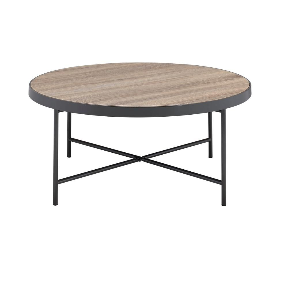 Acme Furniture Bage Weathered Gray Oak Water Resistant Coffee Table 81735 With Images Coffee Table Acme Furniture Coffee And End Tables