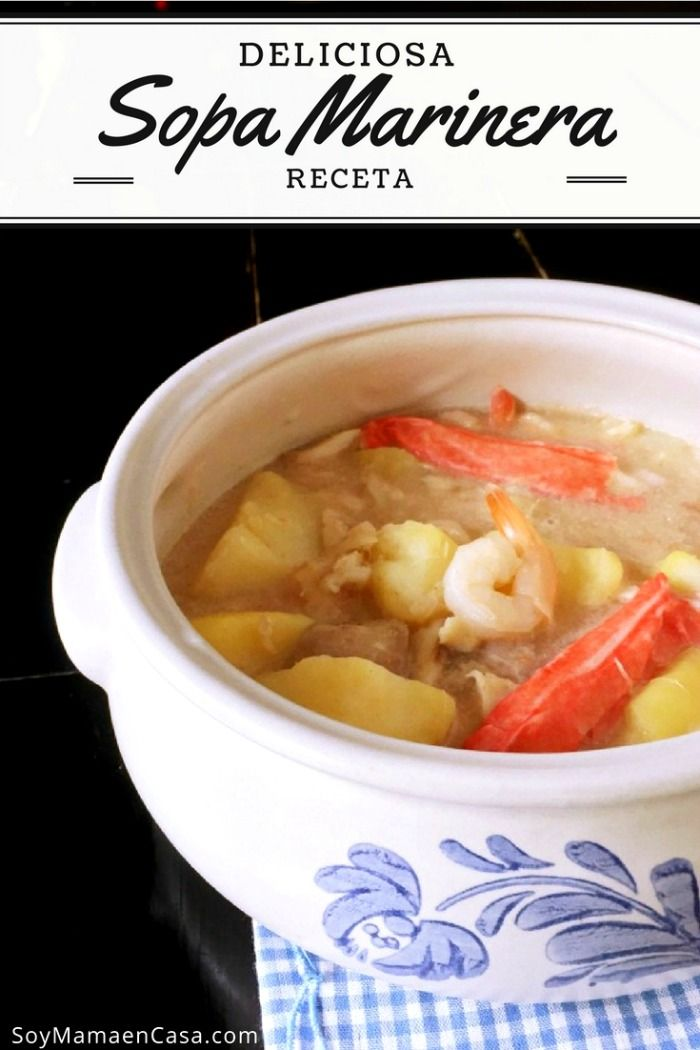 Deliciosa #receta de Sopa Marinera especial =>Haz PIN para guardar :) #40DaysOfFlavor [AD] #Honduras