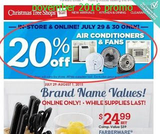 Christmas Tree Shops Coupons (With images) | Christmas ...