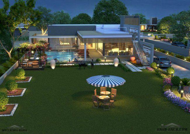 مخطط استراحه فاخرة 2 غرفة نوم Outdoor Decor Dream House House