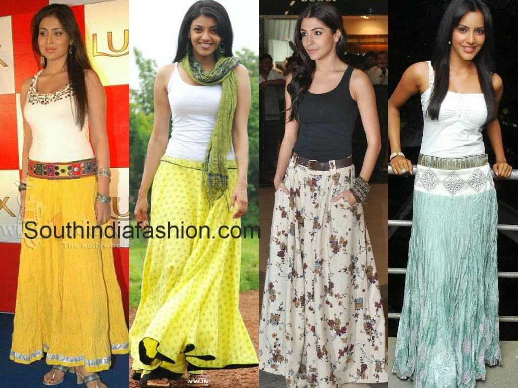 actress in long skirts | Palazzo Pants/ Maxi Skirts/ JumpSuit ...