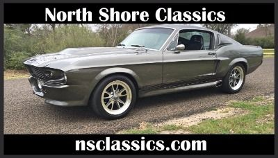 1968 Ford Mustang - FASTBACK SHELBY ELEANOR GT500E-SLICK-NICE PAINT-