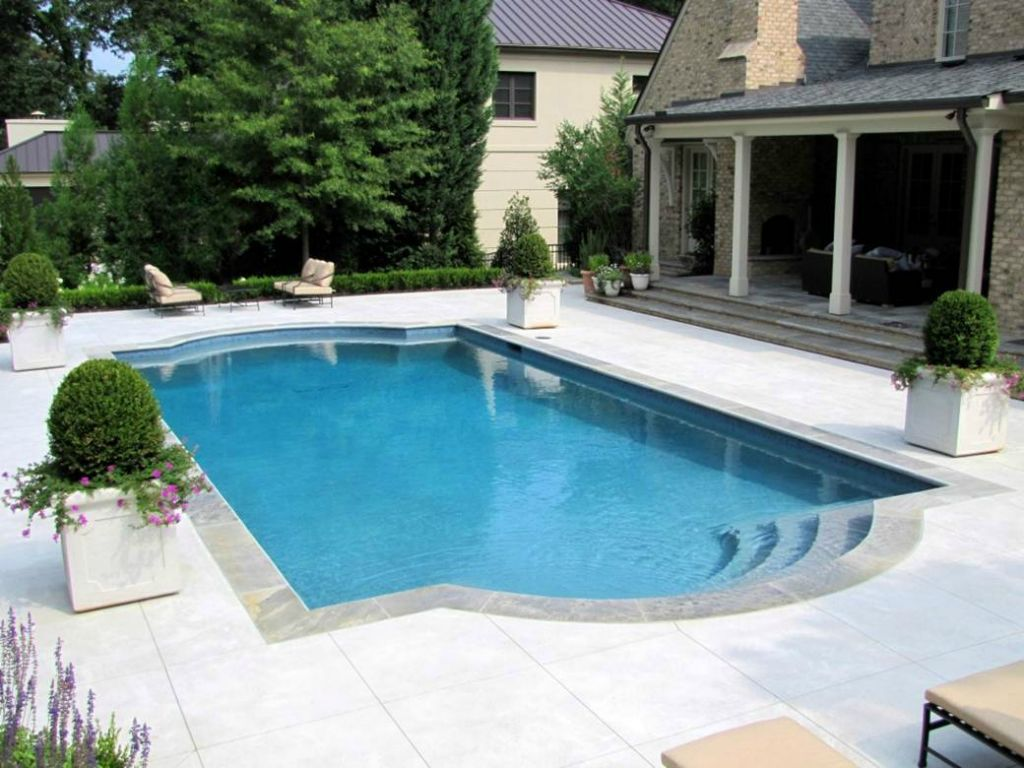 Master pools guild residential pools and spas for Swimming pool surrounds design