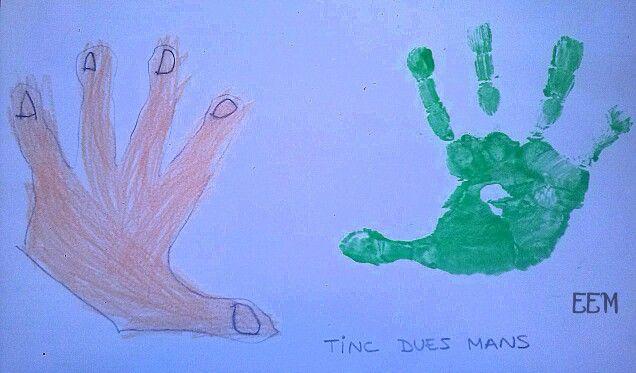 Dues mans
