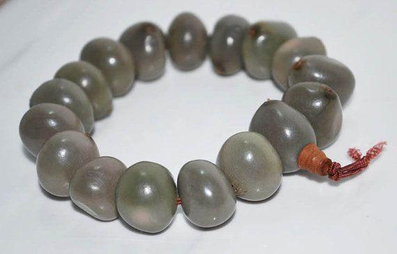 Moon Seed Bodhi Mala Bracelet / Meditation/ by BohoBeachJewelry, $8.50