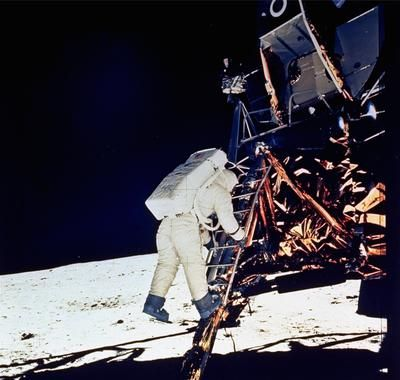First moon walk - before Michael Jackson!