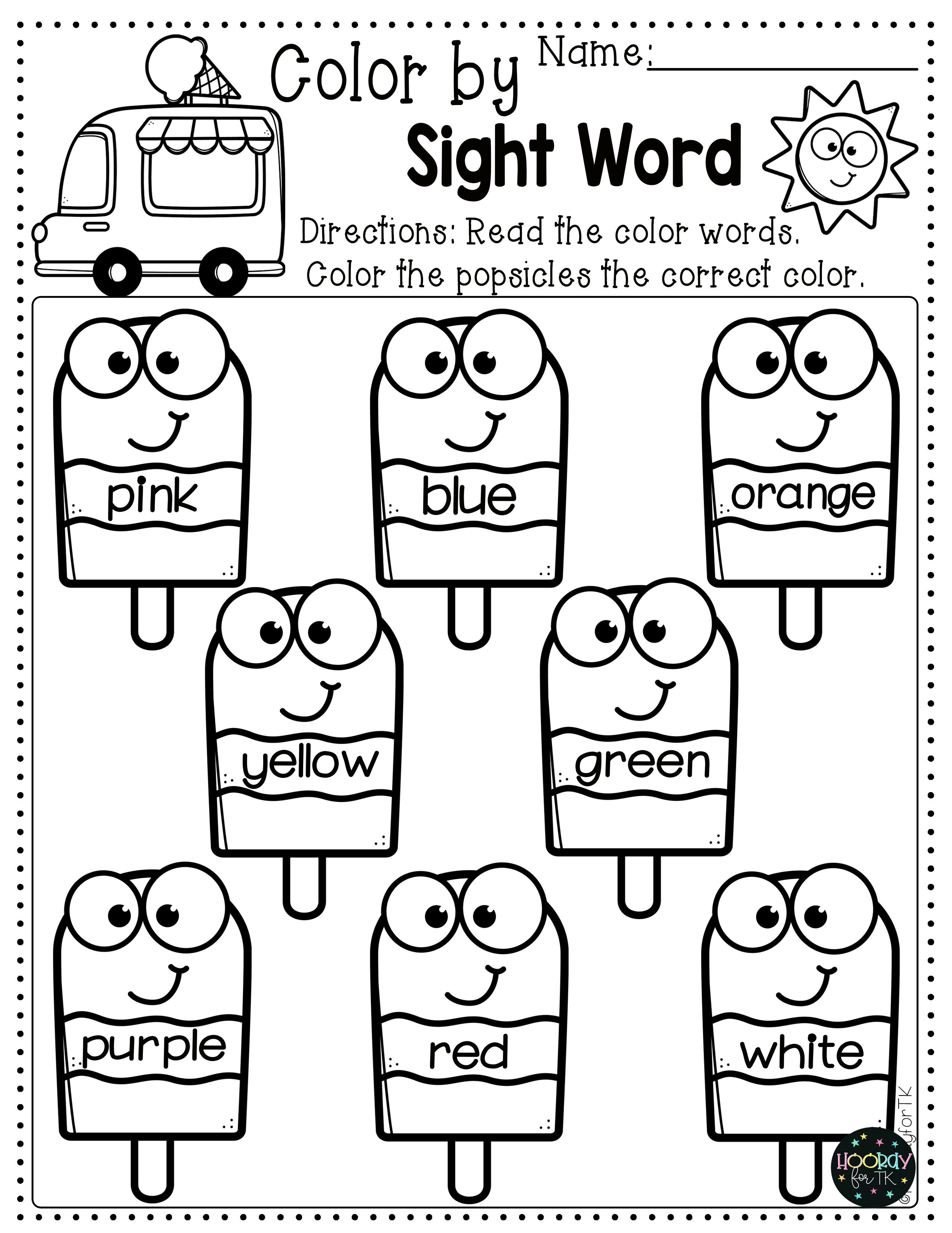 Transitional Kindergarten Curriculum Use These Summer