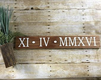 You and me sign established date sign farmhouse style wood