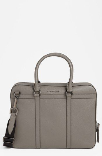 2e80858827dd Burberry  Ormond  Leather Briefcase available at  Nordstrom ...