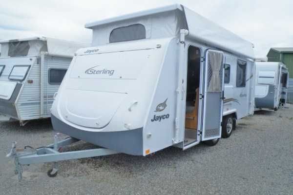 Jayco Sterling 2011 18ft 31 000 Roll Out Awning Jayco Caravans