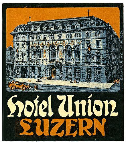 Hotel Union, Lucerne