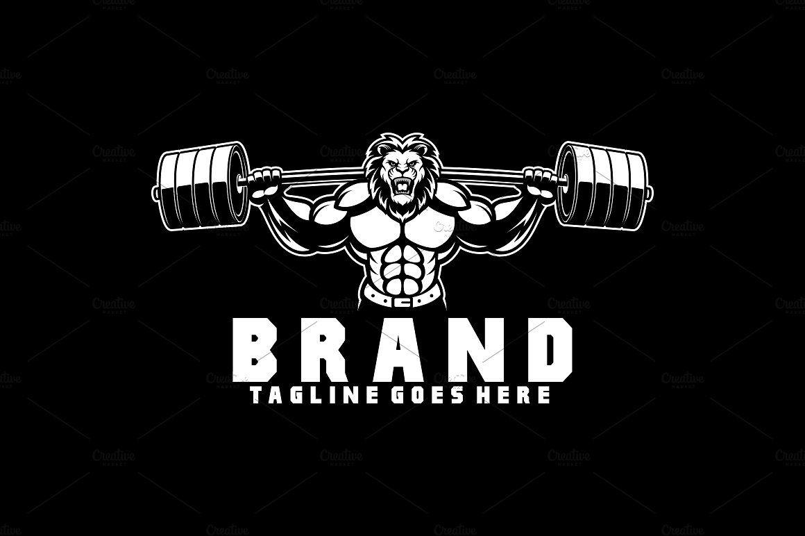 Lion Fitness Logo Fitness Logo Lion King Art Logo