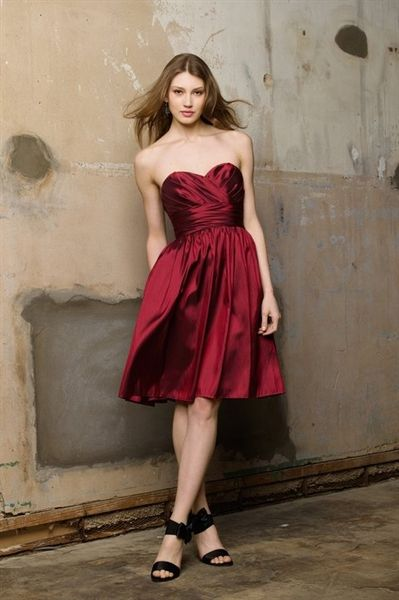 37636a29bed Wine Red Bridesmaid Dresses