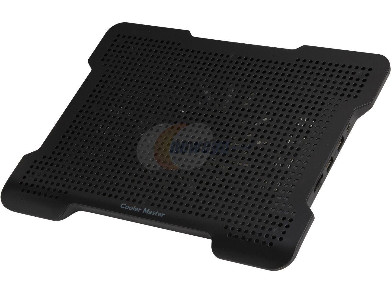 Cooler Master Notepal X Slim Ultra Slim Laptop Cooling Pad With 160 Mm Fan Laptop Cooling Pad Cooler Master Pad