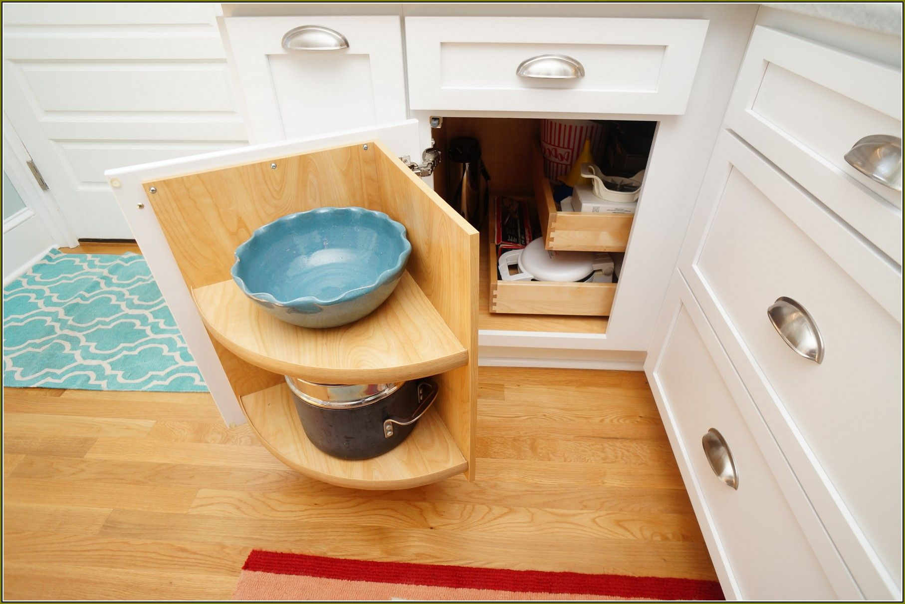 Diy Blind Corner Cabinet Organizer Kitchen Kitchen