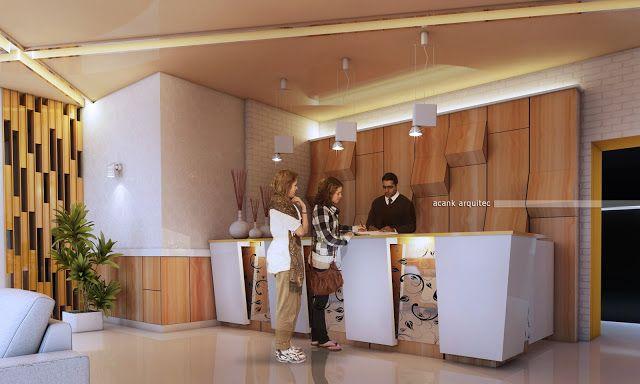 Gambar model interior resepsionis hotel minimalis ramayana satria - Gambar Model Rumah Minimalis