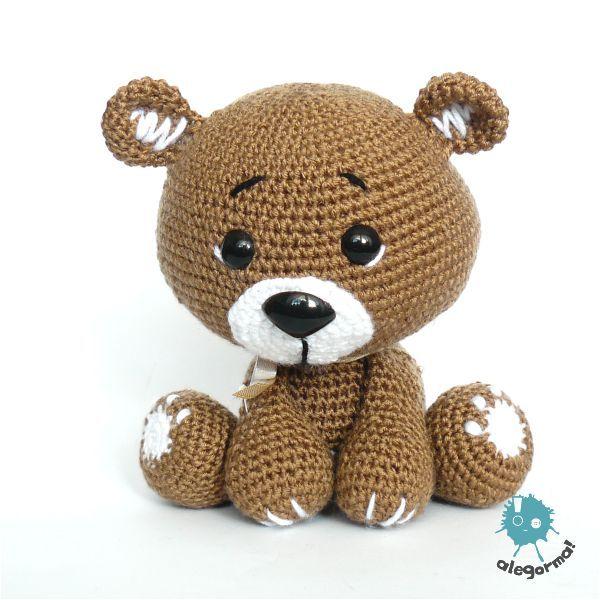 Pani Kulka!   Amigurumi / Crochet   Pinterest   Bären, Stickerei und ...