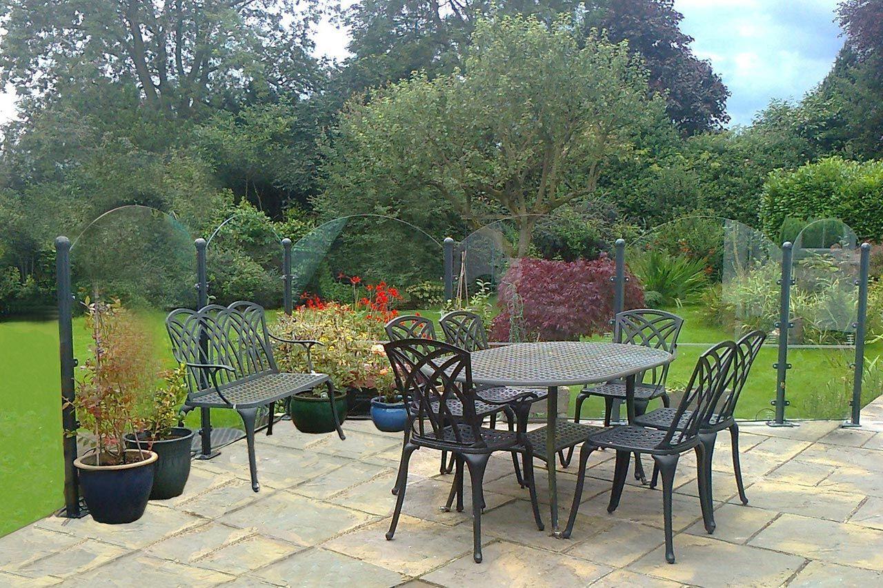 glass windbreak screens patio windbreaks garden Painting Outdoor Furniture janus et cie outdoor furniture covers