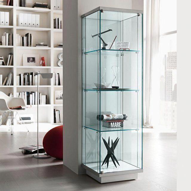Vetrinette Moderne Calligaris.Broadway Glass Display Unit Glass Shelves Unit In 2019