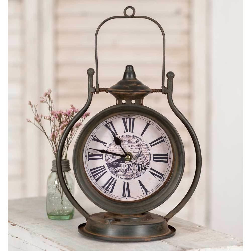 Retro table top clock in products pinterest retro table
