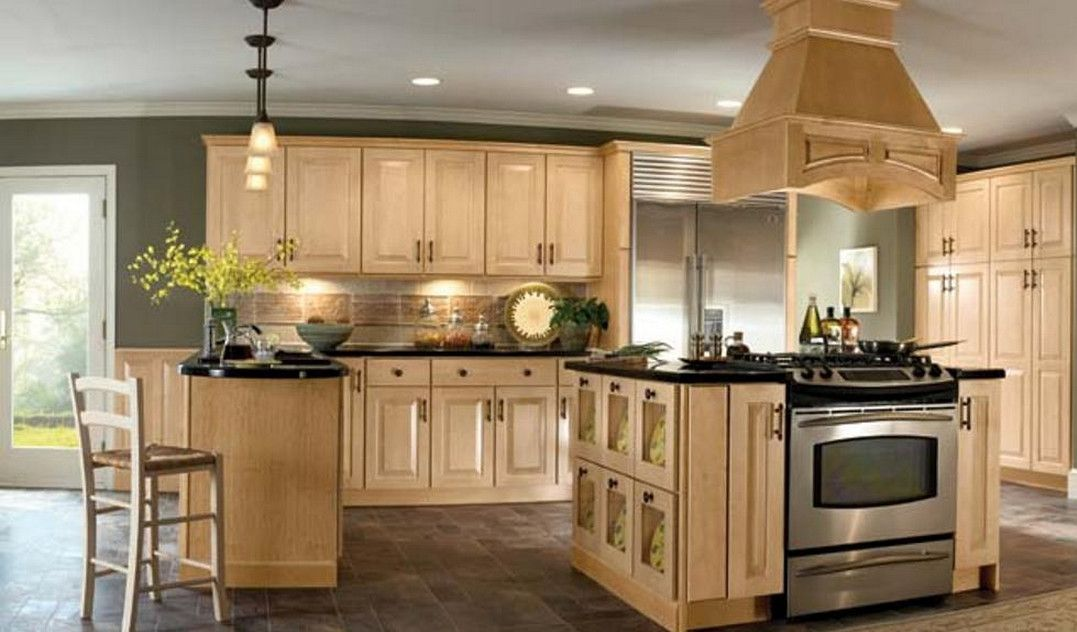 kitchen images with light cabinets great best color for oak  paint colors within ideas jpg 1077 632 Pinterest