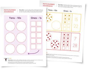 free place value worksheets for young children learn place values for ones and tens. Black Bedroom Furniture Sets. Home Design Ideas
