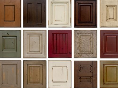 Wood stain colors for kitchen cabinets staining kitchen Kitchen cabinet finishes 2014