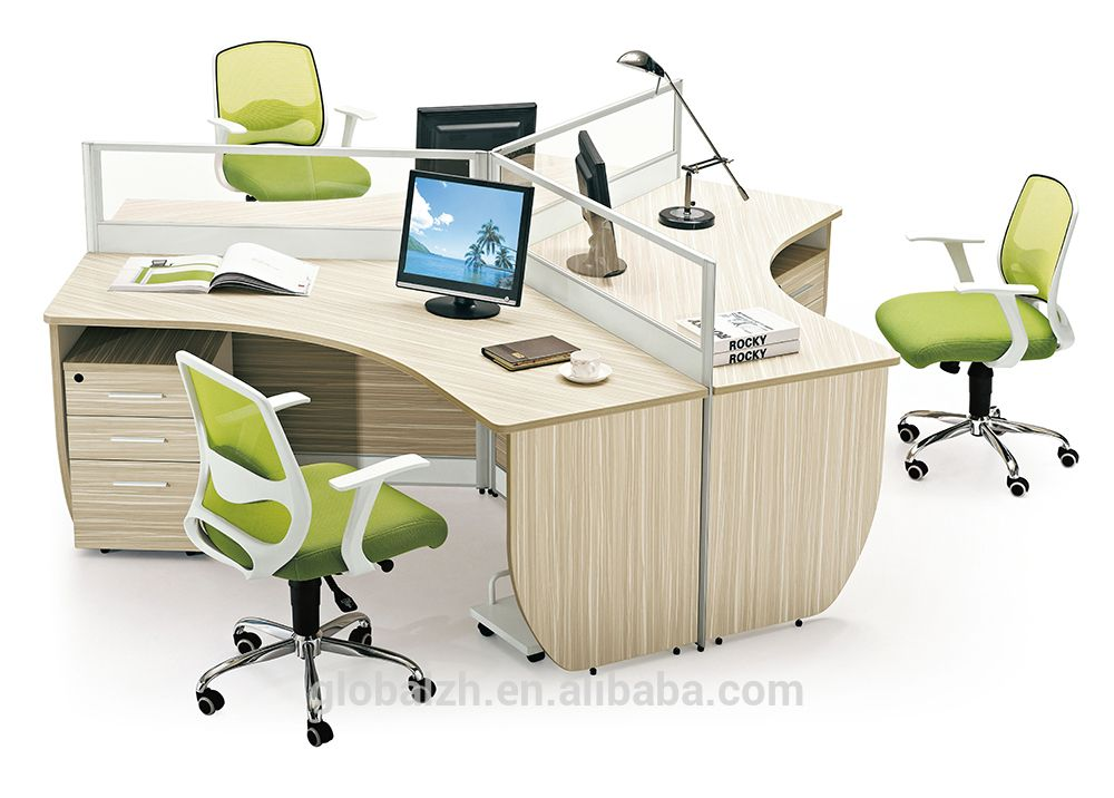 Image Result For Office Desk For 3 People Office Workstations