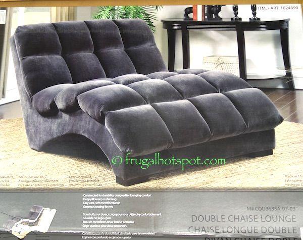 Costco Bainbridge Double Chaise Lounge 349 99 Double Chaise Lounge Chaise Lounge Bedroom Chaise Lounge