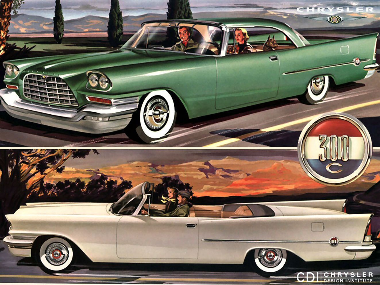 1956 Chrysler 300 C 2Door Hardtop and Convertible  James