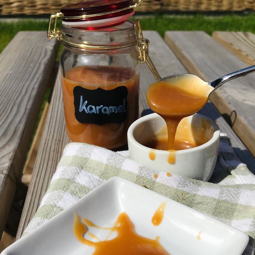 """❤️Karamelsaus ❤️ #yum #yummie #karamel #saus #instafood #linkinbio"""
