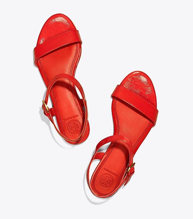 46176fa3557 Tory Burch Laurel Flat Sandal - Poppy Orange 7.5