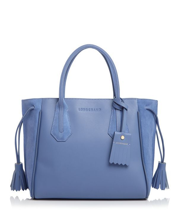 8226f162d2cc Longchamp Penelope Fantaisie Small Leather Tote