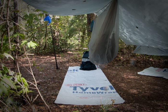 Ground cloth for your tarp or sleeping bag. This Dupont product is super tough and light and water proof. & Tyvek by the foot | camping | Pinterest | Tents and Camp gear