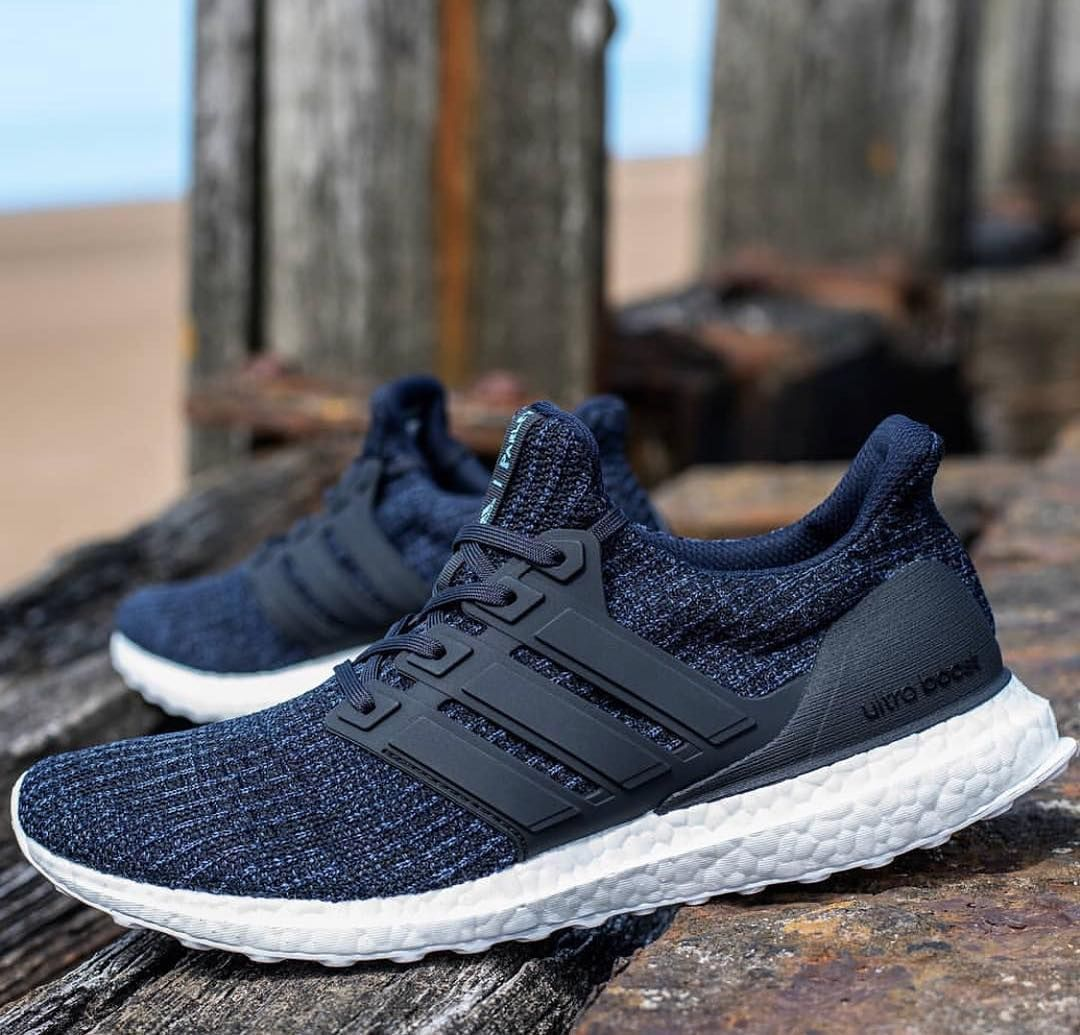 huge selection of 7a86e 74ab5 Adidas Ultra Boost Legend Ink AC7836 Adidas與海洋環保組織 Parley for the oceans 在