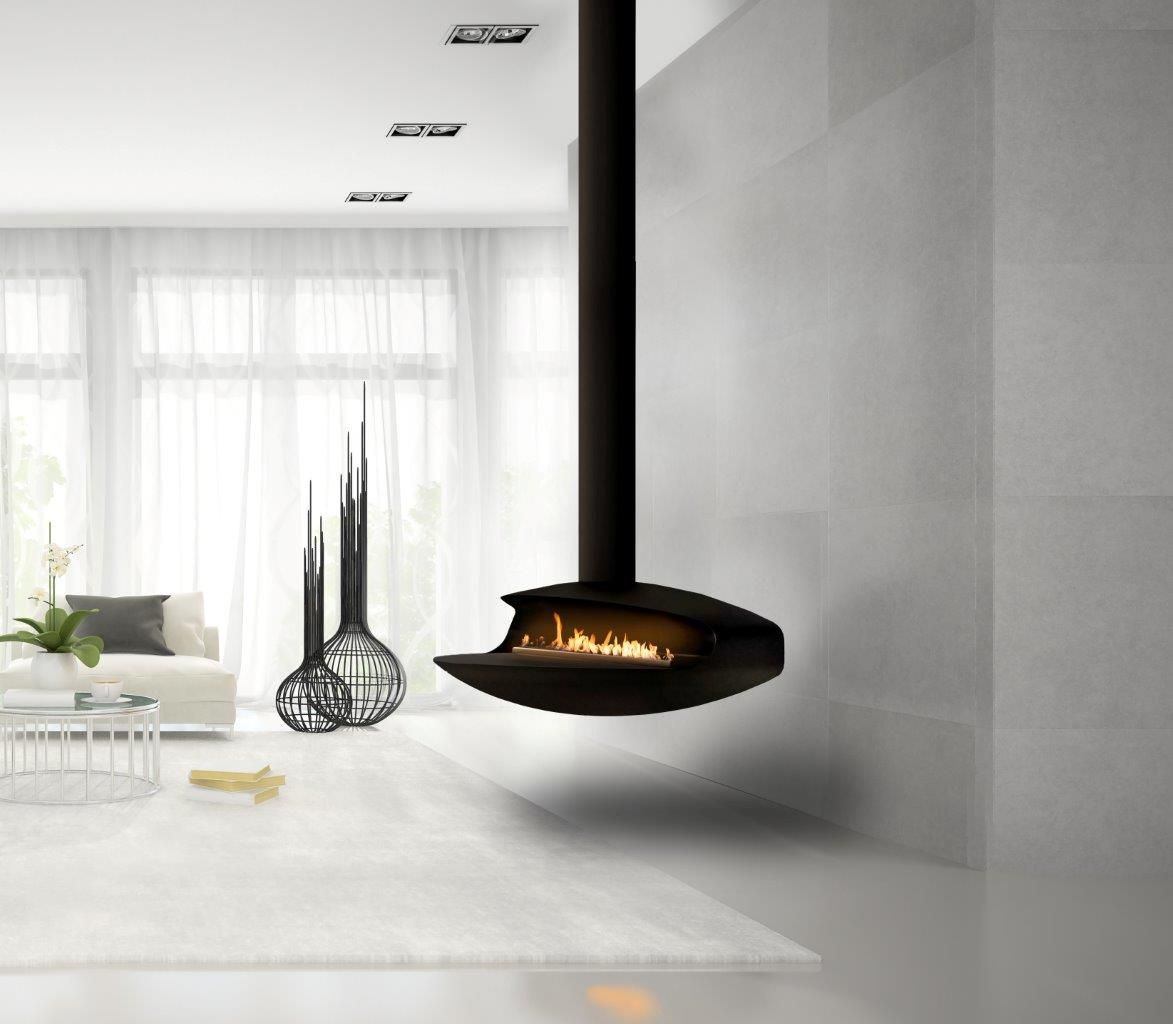 Float Suspended Bioethanol Fireplaces Beauty Fires Bioethanol Fireplace Hanging Fireplace Fireplace Design
