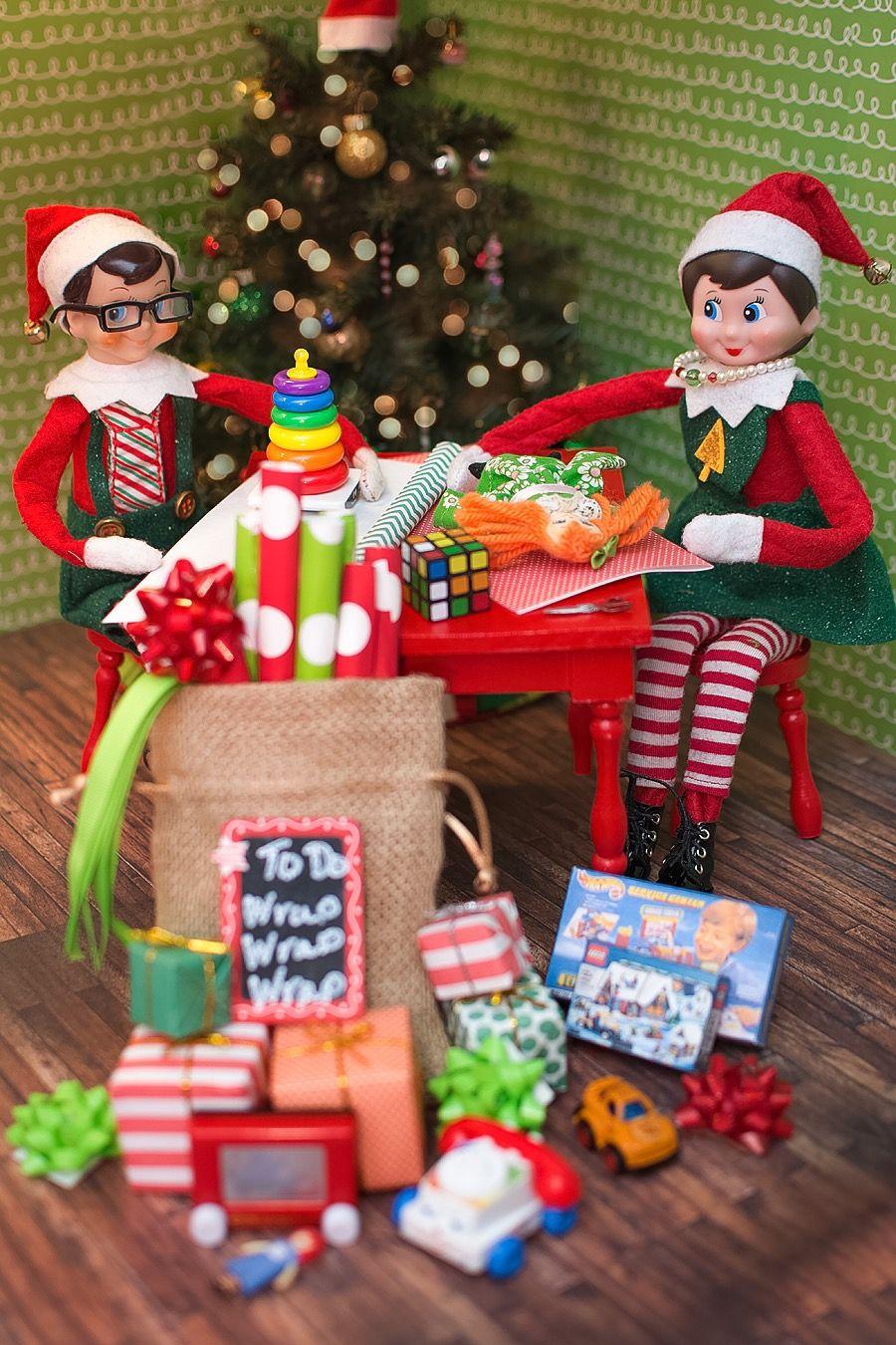 Elf To Do List Wrap Wrap Wrap Elf On The Shelf