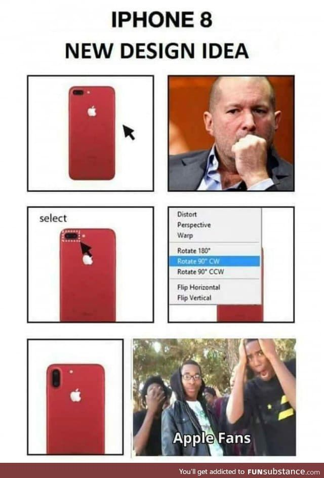 IPhone 8 new design idea - FunSubstance