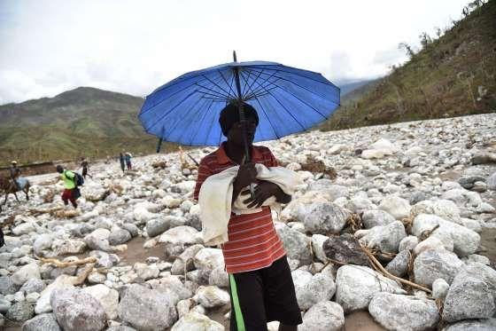 Randelle, Haiti - Hector Retamal/AFP/Getty Images