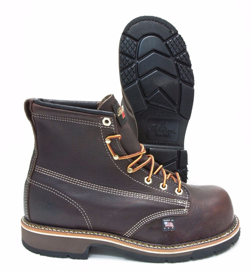 90e3709d38e Thorogood 804-4367 Emporer Brown Leather Composite Toe Slip ...